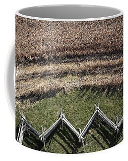 Snake-rail Fence And Cornfield Coffee Mug