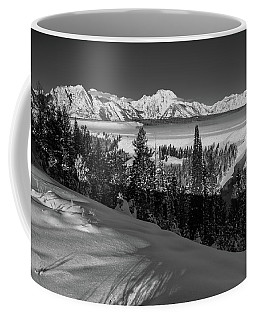 Snake River Overlook-winter Scene 79 Coffee Mug