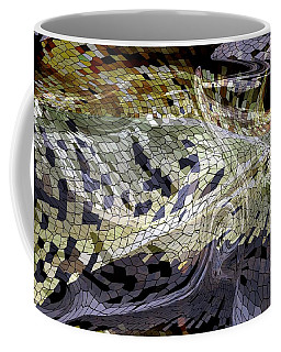 Snake Skin Tile Coffee Mug