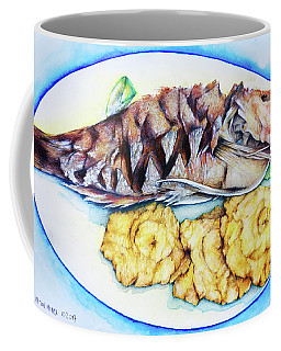 Snapper And Tostones Coffee Mug