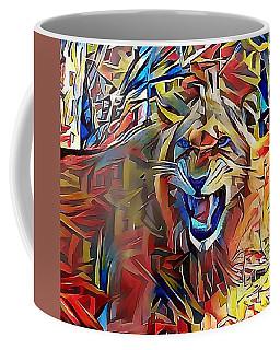 Snarling Lion Coffee Mug