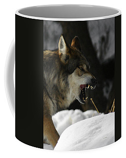 Snarling Wolf Coffee Mug