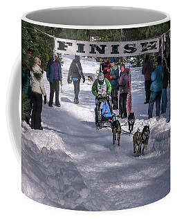Coffee Mug featuring the photograph Sndd-1462 Tim's Takeoff by Jan Davies