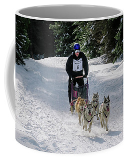 Coffee Mug featuring the photograph Sndd-1630 Flying by Jan Davies