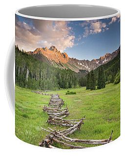 Sneffels Fence Horizontal Coffee Mug