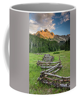 Sneffels Fence Vertical Coffee Mug