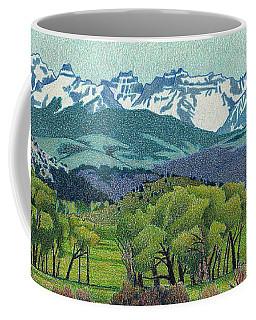 Sneffels Range Spring Coffee Mug