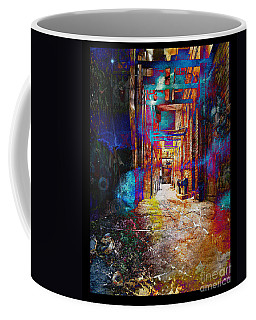 Coffee Mug featuring the photograph Snickelway Of Light by Phil Perkins