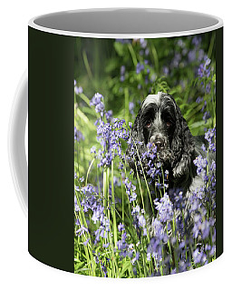 Sniffing Bluebells Coffee Mug