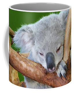 Snoozing Koala Bear Coffee Mug
