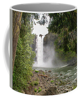 Snoqualmie Falls From Below Coffee Mug