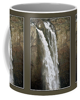 Snoqualmie Falls Coffee Mug by Krista-