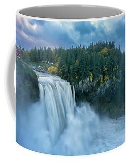 Snoqualmie Falls Rush Hour Coffee Mug