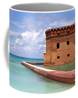 Snorkelers Fort Jefferson Coffee Mug