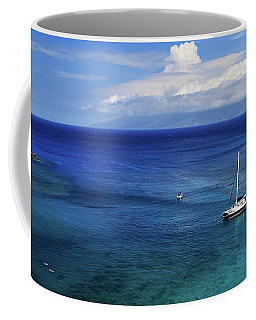 Snorkeling In Maui Coffee Mug by James Eddy