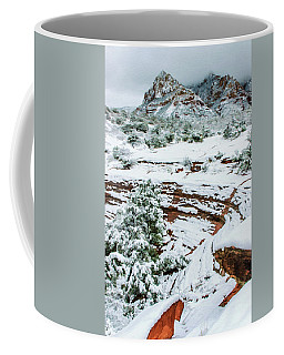 Snow 09-037 Coffee Mug by Scott McAllister