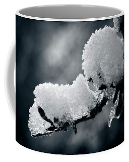 Coffee Mug featuring the photograph Snow - 365-284 by Inge Riis McDonald
