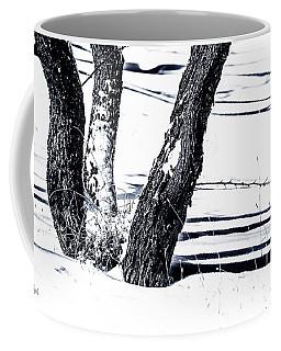 Snow And Shadows Coffee Mug