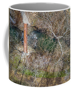Snow Around The Creek Coffee Mug