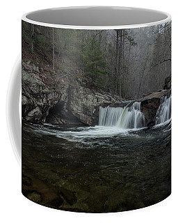 Snow At Baby Falls Coffee Mug