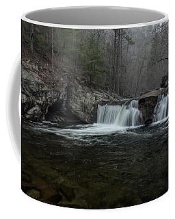 Snow At Baby Falls Coffee Mug
