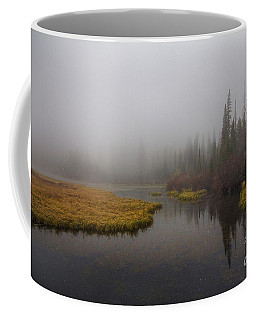 Coffee Mug featuring the photograph First Snow by Spencer Baugh