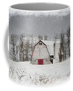 Snow Barn Coffee Mug