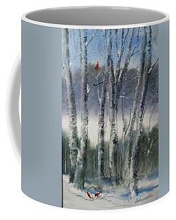 Snow Birch  Coffee Mug