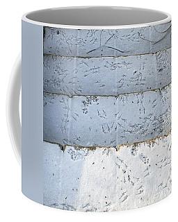 Snow Bird Tracks Coffee Mug