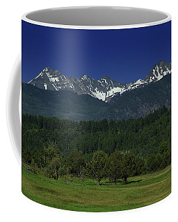 Snow Capped Mountains 2 Coffee Mug