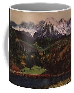 Snow Caped Mountain Coffee Mug
