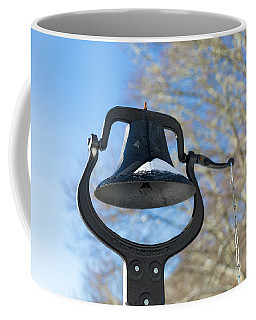 Snow Covered Bell Coffee Mug