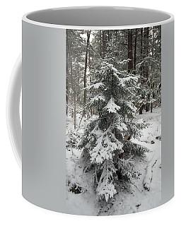 Snow Covered Evergreen Coffee Mug