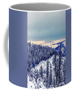 Snow Covered Mountains Coffee Mug