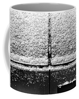 Coffee Mug featuring the photograph Snow Covered Rear by Robert Knight