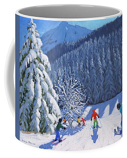Snow Covered Trees Coffee Mug