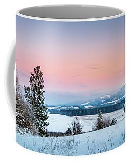 Snow Covered Valley Coffee Mug
