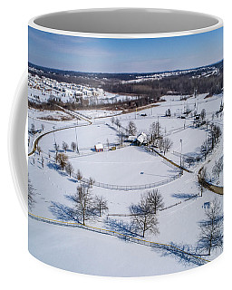 Snow Diamonds Coffee Mug