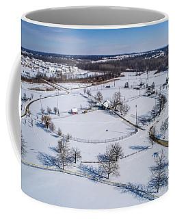 Snow Diamonds Coffee Mug