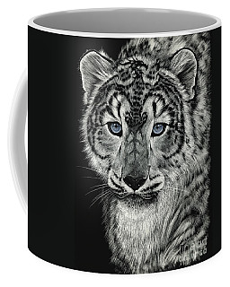 Snow Dragon Leopard Coffee Mug