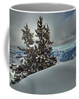 Snow Drifts And Mountains Coffee Mug