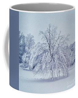 Snow Encrusted Tree Coffee Mug