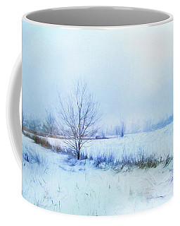 Coffee Mug featuring the photograph Snow Field by John Rivera