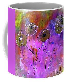 Snow Flowers Coffee Mug