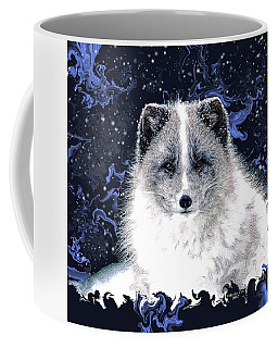 Snow Fox Coffee Mug