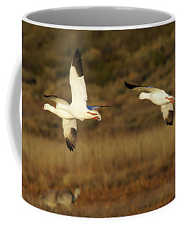 Snow Geese In Flight Coffee Mug