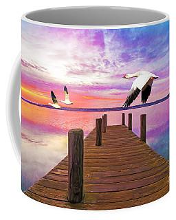 Snow Geese Passing Through Coffee Mug