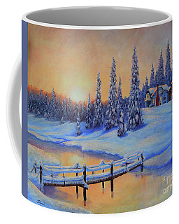 Snow Home Coffee Mug