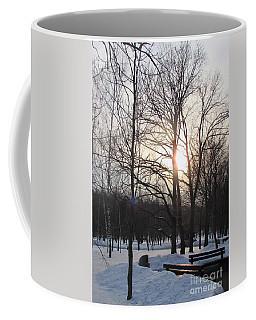 Snow In March Coffee Mug