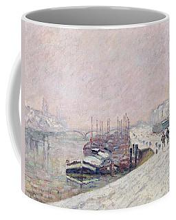 Snow In Rouen Coffee Mug
